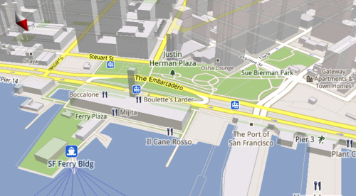 Google Maps 5.0 voor Android in aantocht - TabletGuide.nl