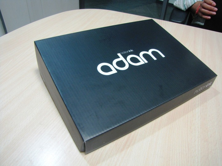 Notion Ink Adam unboxing - TabletGuide.nl