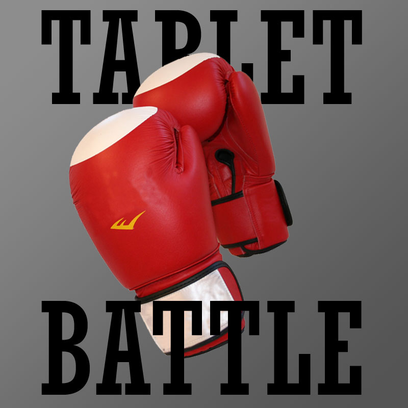 tablet battle - TabletGuide.nl