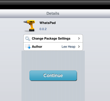 WhatsPad iPad