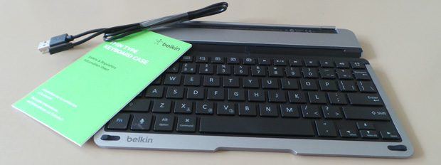 Review Belkin Thin Type Keyboard Case Voor Ipad Air