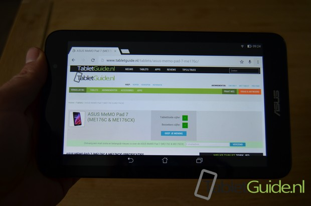 ASUS MeMO Pad 7 ME176CX tablet review (2)
