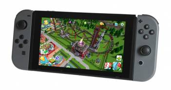 Nintendo Switch Rollercoaster Tycoon