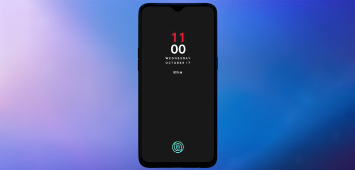 OnePlus 6T conceptfoto